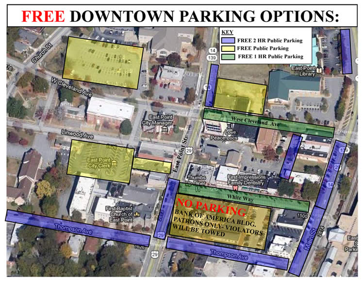 Free Downtown Parking Options